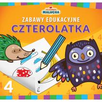 Praca zbiorowa Zabawy edukacyjne czterolatka. Akademia Malucha