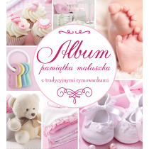 Praca zbiorowa Album Pamiątka Maluszka różowy