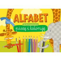 Praca zbiorowa Alfabet. Piszę i koloruję. Dzikie zwierzęta