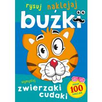 Praca zbiorowa Buźki. Zwierzaki cudaki