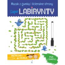 Praca zbiorowa Super Labirynty. Bystrzaki do dzieła