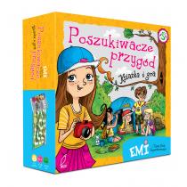 Mielech Agnieszka Emi i Tajny Klub Superdziewczyn. Książka i gra planszowa