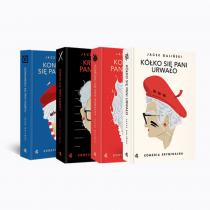 Jacek Galiński Pakiet 4 tomy. Jacek Galiński. Komedia kryminalna