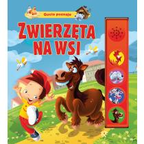 Kozłowska Urszula Gucio 4 dźwięki. Zwierzęta na wsi