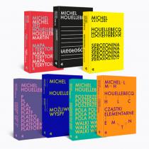 Michel Houellebecq Pakiet 7 książek. Michel Houellebecq