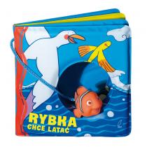 Praca zbiorowa Książeczki kąpielowe. Rybka chce latać