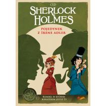 CED Sherlock Holmes. Pojedynek z Irene Adler. Komiks paragrafowy