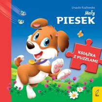 Urszula Kozłowska Książka z puzzlami. Mały piesek