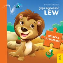Urszula Kozłowska Książka z puzzlami. Jego Wysokość lew