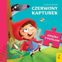 Urszula Kozłowska Książka z puzzlami. Czerwony kapturek