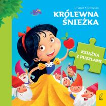 Urszula Kozłowska Książka z puzzlami. Królewna Śnieżka