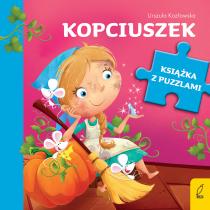 Urszula Kozłowska Książka z puzzlami. Kopciuszek