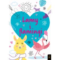 Praca zbiorowa Koloruję. Lamy i flamingi