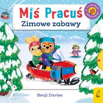 Benji Davies Miś Pracuś. Zimowe zabawy