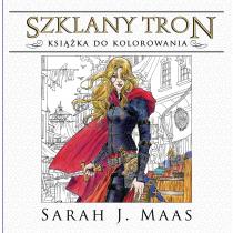 Mass J. Sarah Szklany tron. Książka do kolorowania