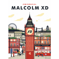 Malcolm XD Emigracja. Pocket