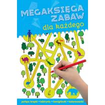 Praca zbiorowa Megaksięga zabaw dla każdego