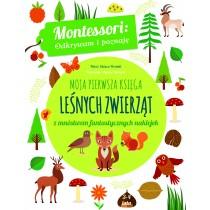 Piroddi Chiara Montessori. Moja pierwsza księga leśnych zwierząt