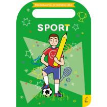 Praca zbiorowa Kolorowanki przedszkolaka. Sport