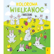Ewelina Protasewicz Kolorowa Wielkanoc z naklejkami