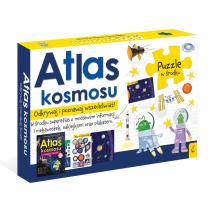 Praca zbiorowa Pakiet Atlas kosmosu: Atlas w zestawie z mapą i puzzlami