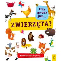 Praca zbiorowa Przedszkolak się uczy. Czy znasz już zwierzęta?