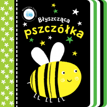 Praca zbiorowa Błyszczące książeczki. Błyszcząca pszczółka