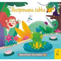 Praca zbiorowa Biblioteka maluszka. Rozśpiewana żabka