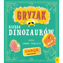 Emma Yarlett Gryzak. Księga dinozaurów