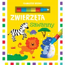 Urszula Kozłowska Flamaster wodny. Zwierzęta sawanny
