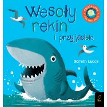 Praca zbiorowa Książka rozkładanka. Wesoły rekin i przyjaciele