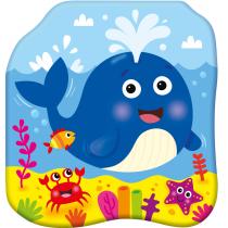 Praca zbiorowa Książeczki kąpielowe. Radosny wieloryb