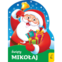 Urszula Kozłowska Wykrojnik. Święty Mikołaj