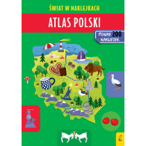 Patrycja Zarawska Atlas Polski. Świat w naklejkach