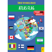 Atlas flag. Świat w naklejkach
