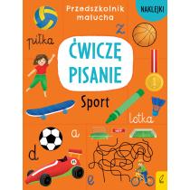 Praca zbiorowa Przedszkolnik malucha. Ćwiczę pisanie. Sport