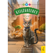 Anna Paszkiewicz Książkożercy. Tajny agent Fred. Poziom B