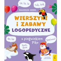 Małgorzata Korbiel Wierszyki i zabawy logopedyczne z pingwinkiem Piko