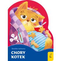 Stanisław Jachowicz Chory kotek. Wykrojnik