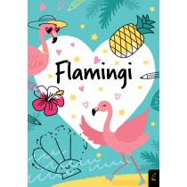 Praca zbiorowa Koloruję. Kocham flamingi