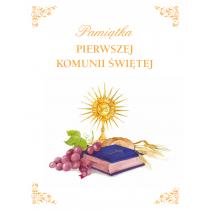 Praca zbiorowa Album komunijny. Pamiątka I Komunii Świętej