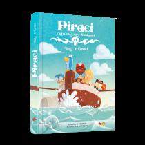 Shuky Piraci. Klątwa wyspy Shukanet. Komiks paragrafowy