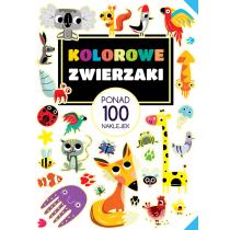 Praca zbiorowa Ponad 100 naklejek. Kolorowe zwierzaki