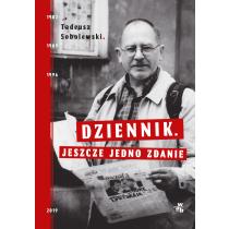 Tadeusz Sobolewski Dziennik. Jeszcze jedno zdanie
