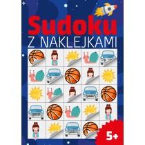 praca zbiorowa Sudoku z naklejkami