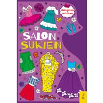 Praca zbiorowa Kolorowanki. Salon sukien