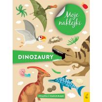 Praca zbiorowa Moje naklejki. Dinozaury