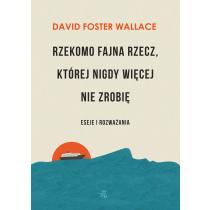 Wallace Foster David Rzekomo fajna rzecz, której nigdy więcej nie zrobię. Eseje i rozważania