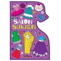 Kolorowanki. Salon sukien