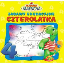 Praca zbiorowa Zabawy edukacyjne czterolatka